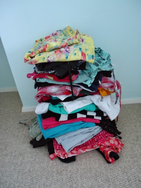 Image result for stack of clothes