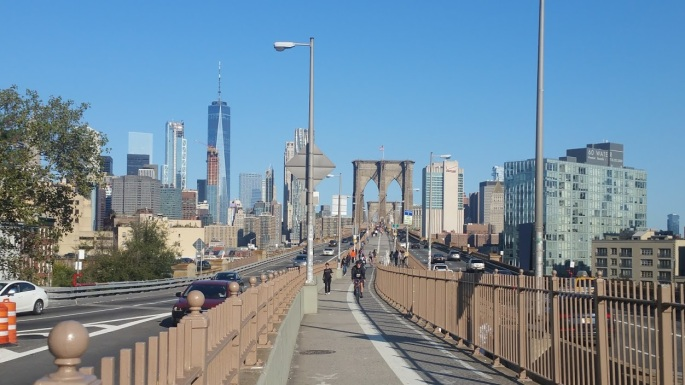 Brooklyn Bridge Sunday Sept 10