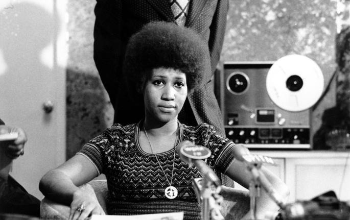 Aretha Afro 1973